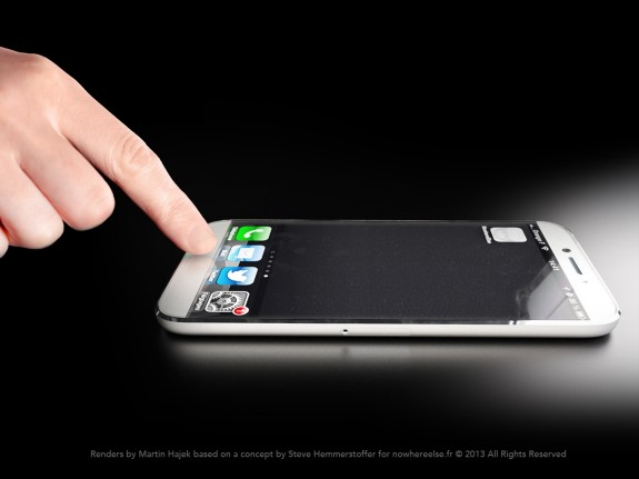 iPhone 6 concept removes the home button in favor of a clickable touchscreen.