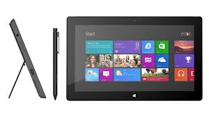 As shown, Microsoft's Surface Pro with Wacom pen technology