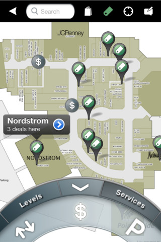 Indoor navigation application, Point Inside for iOS.