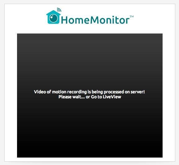 video processing error