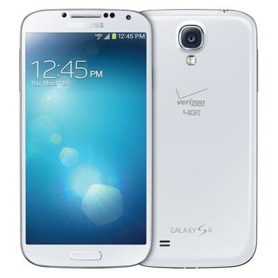 This is the Verizon Galaxy S4.