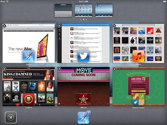 Bianco iOS 7 concept iPad Mission Control
