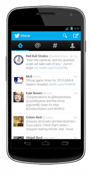 New Twitter for Android
