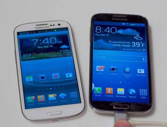 The Samsung Galaxy S3 is cheaper as the Samsung Galaxy S4 release nears.