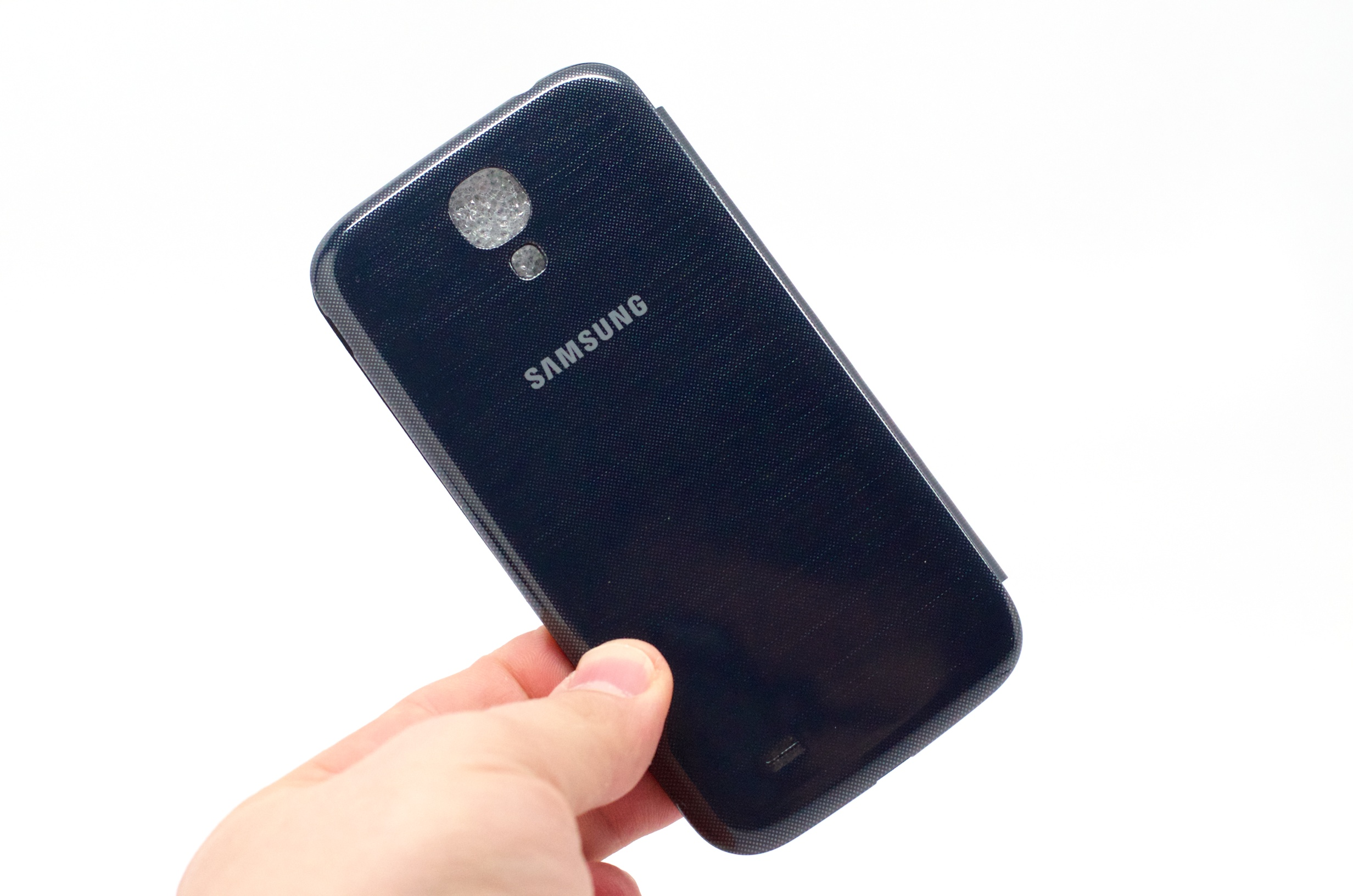 Samsung galaxy s4 flip cover hands on video the samsung galaxy s4 flip cover is a nice case ccuart Image collections