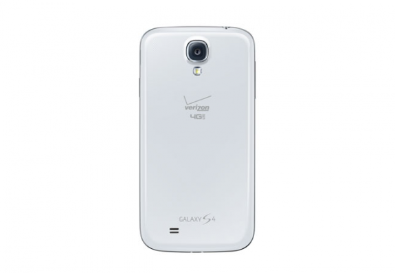 Verizon's Galaxy S4 also appeared today on Samsung's website.