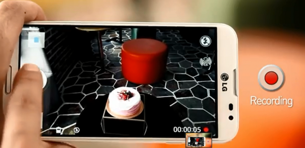 The LG Optimus G Pro's has new continuous video recording.