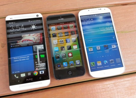 The iPhone 6 will boast a larger screen, claims Misek. This will help the iPhone 6 compete with Android devices with larger, higher resolution displays.