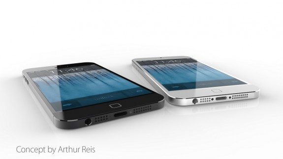 Waterproof iPhone 6 Concept with No Home Button
