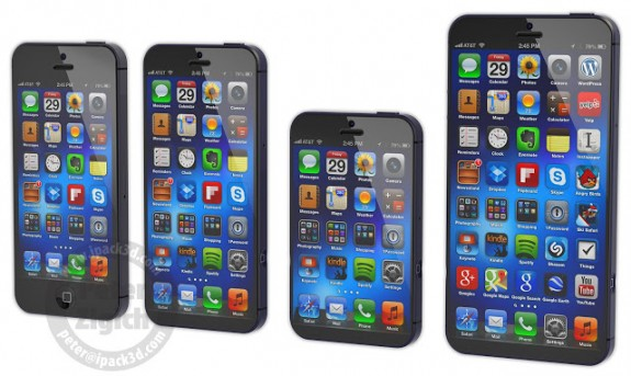 iPhone 6 Concept with a Galaxy Note 2 Size Display