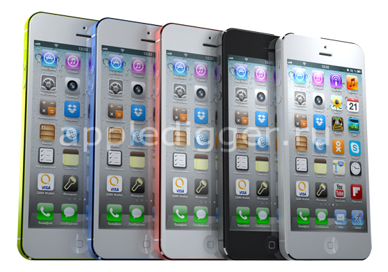 iPhone 6 with a 5-inch Display and Color Options