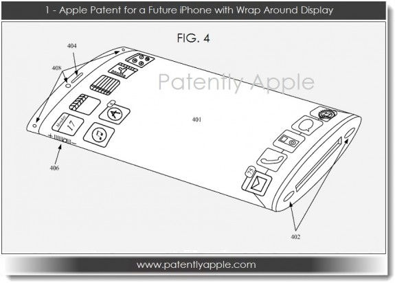 This could be Apple's iPhone 6 concept.