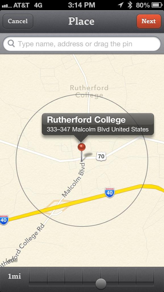 reminders+ location based reminders app