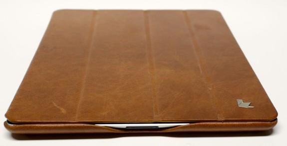 jison case vintage real leather smart cover