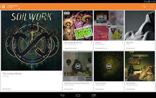 Download the Google Play All Access app today.
