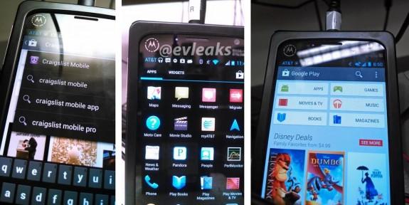 An alleged Motorola X Phone leak.