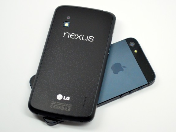 The Nexus 4 arrived in November of last year.