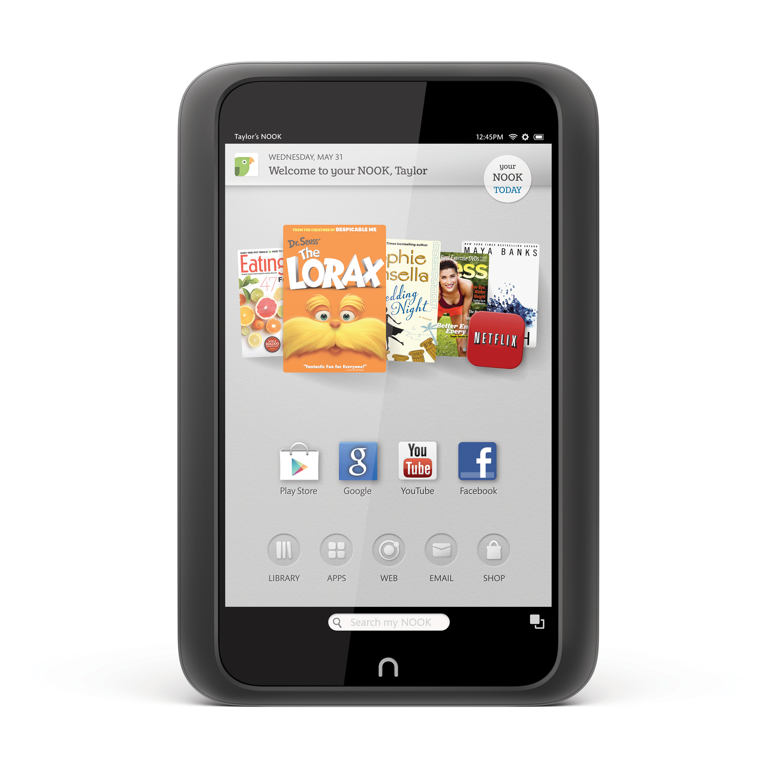 Barnes & Noble Adds Google Play Store To Nook HD And Nook HD