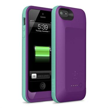 Belkin Grip Power Iphone 5 Battery Case Offers Mophie Alternative It has a smaller diameter than the belkin, so larger phones overhang. gotta be mobile