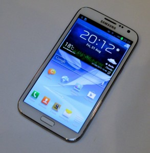 The Galaxy Note 3 could be released in Q3 as well.