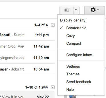 Step 1: Go to Configure Inbox.
