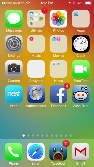 iOS 7 is chock full of new, including a new look to its UI.