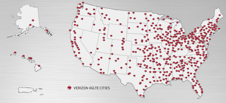 The Verizon 4G LTE rollout is complete, and Verizon is already planning for 2013 and 2014.