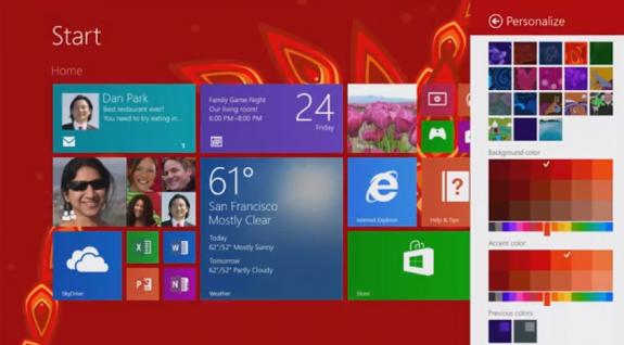 Windows 8.1 Features - Start Screen