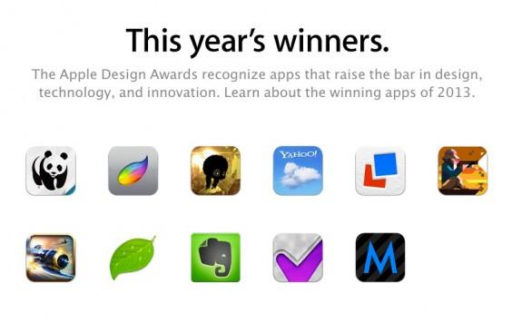 apple design awards 2013