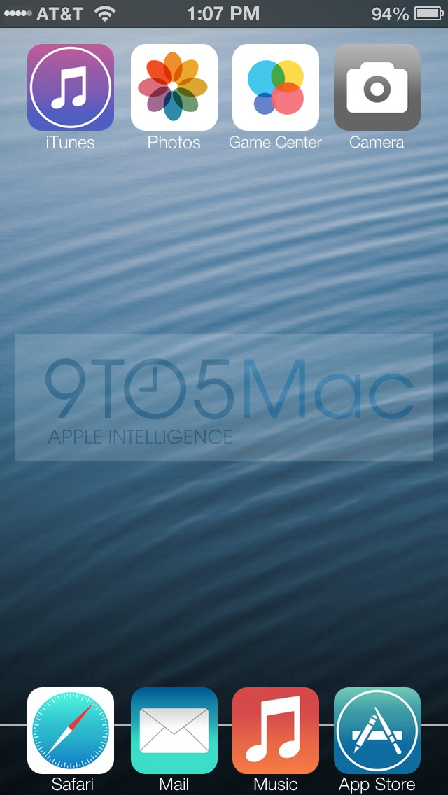 This iOS 7 concept is based on a first hand account of the iOS 7 beta.