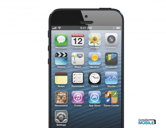 The iPhone 5S is expected to replace the iPhone 5 later this year.