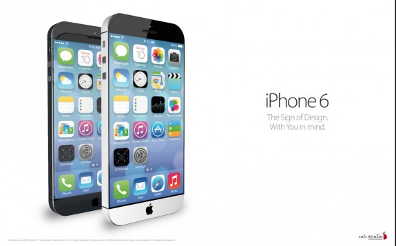 iPhone 6 Concept from iOS 7 - Display