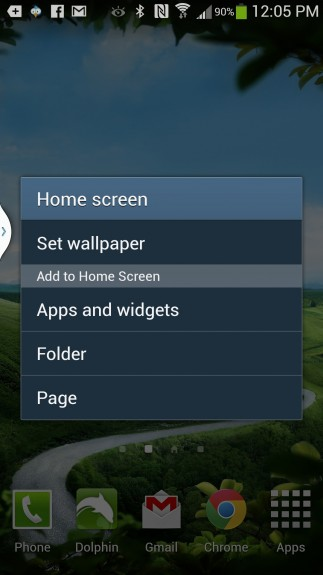 create folders on gs4