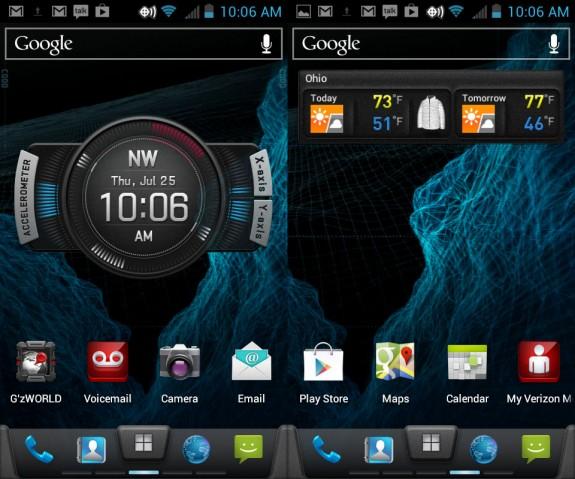 Casio Apps on the G'zOne Commando 4G LTE.