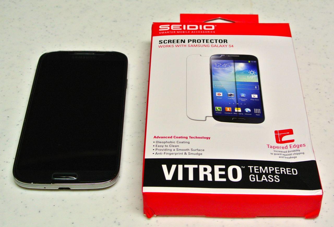 SEIDIO Vitreo Tempered Glass Screen Protector for Samsung Galaxy S4
