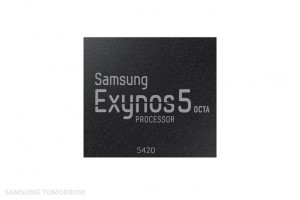 The Exynos 5420 is a new Exynos 5 Octa chip.