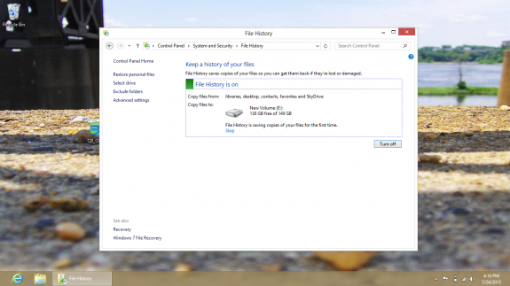How to Back Up and Restore your Windows 8 PC to a hard drive 9