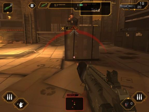 Deus Ex: The Fall game play