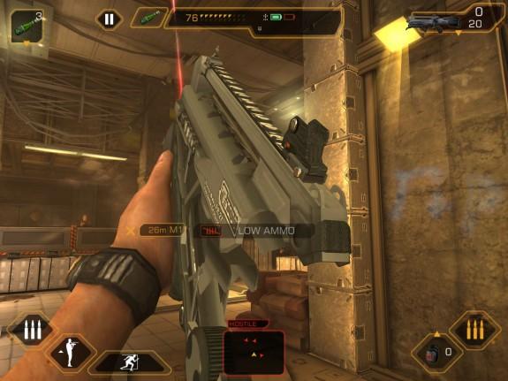 Deus Ex: The Fall reloading