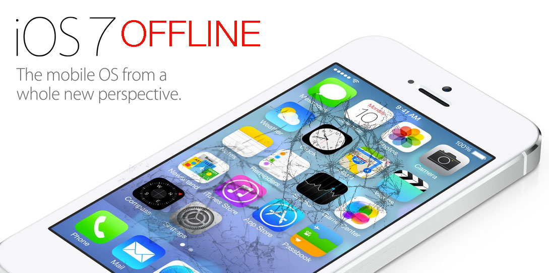 The iOS 7 beta 4 release is on hold while Apple brings the iOS developer center back online.