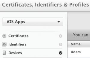 The iOS Developer Center is online.