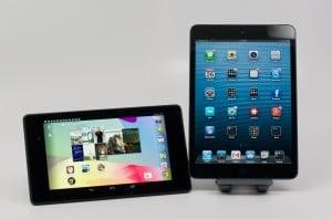 The Nexus 7 LTE will beat the iPad mini 2 to shelves.