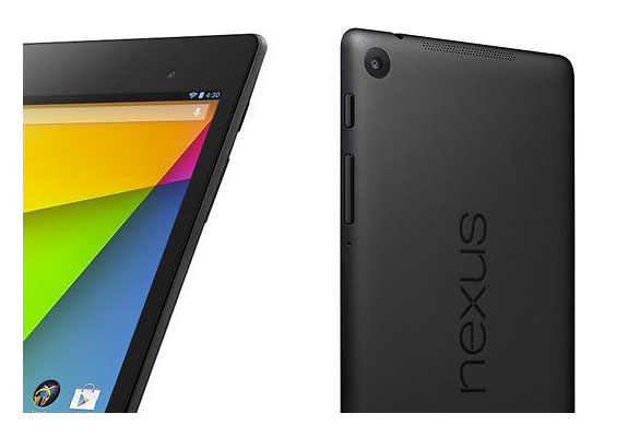 The new Nexus 7 features a 5MP rear-facing camera.