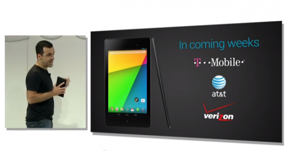 Google did not give the LTE Nexus 7 a specific release date.