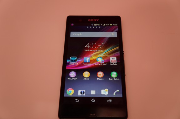 T-Mobile Sony Xperia Z 1