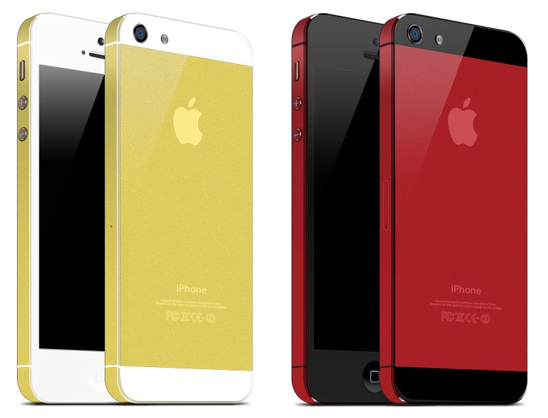 A gold iPhone 5 is just $250 more than the standard iPhone cost.