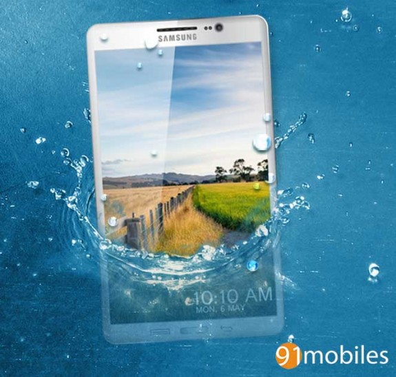 Samsung may opt to make the Galaxy S5 both dust and water resistant.