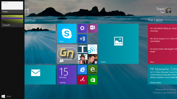 how to multitask in windows 8 1