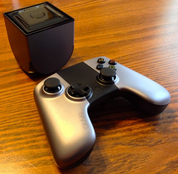 ouya android game system and controller