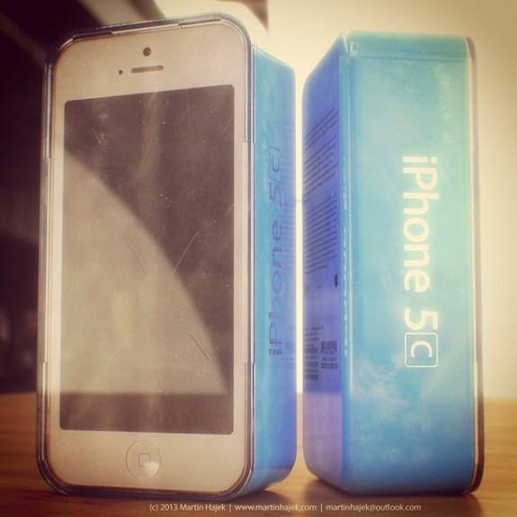 iPhone 5C branding concept from Martin Hajek.